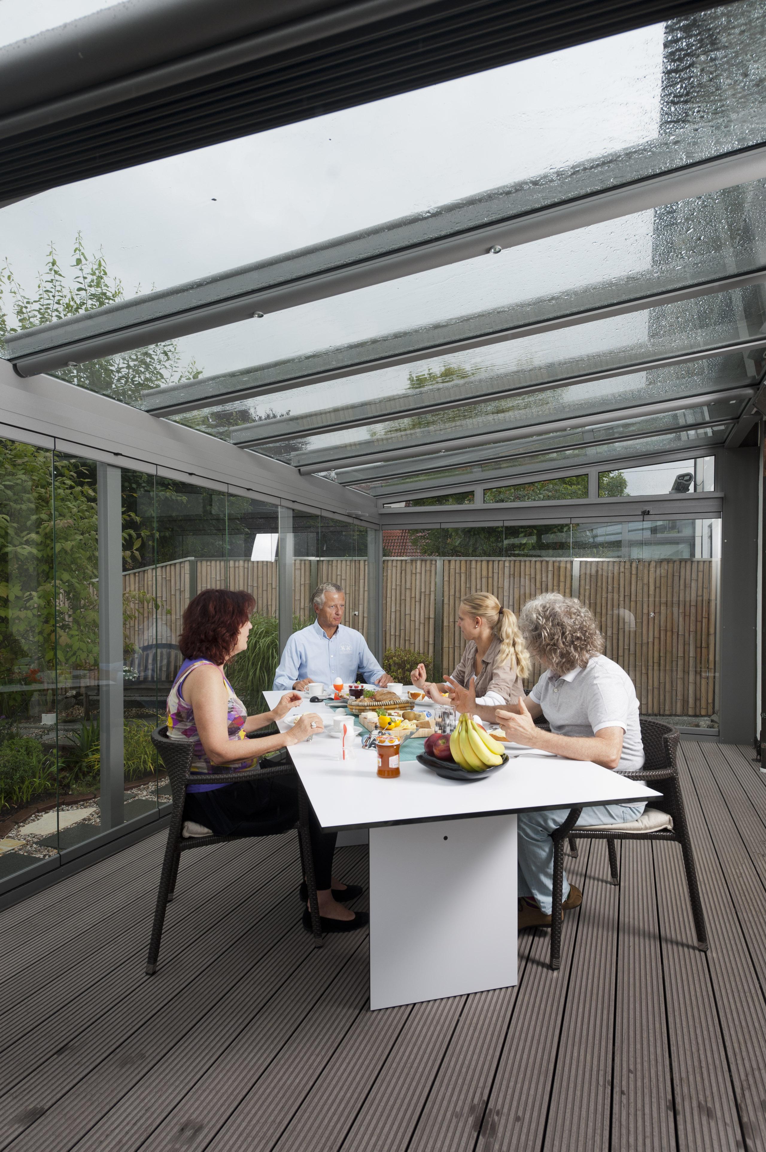 beste von terrassendach glas haus design ideen. Black Bedroom Furniture Sets. Home Design Ideas