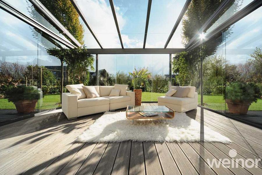 glas terrassendach haloring. Black Bedroom Furniture Sets. Home Design Ideas