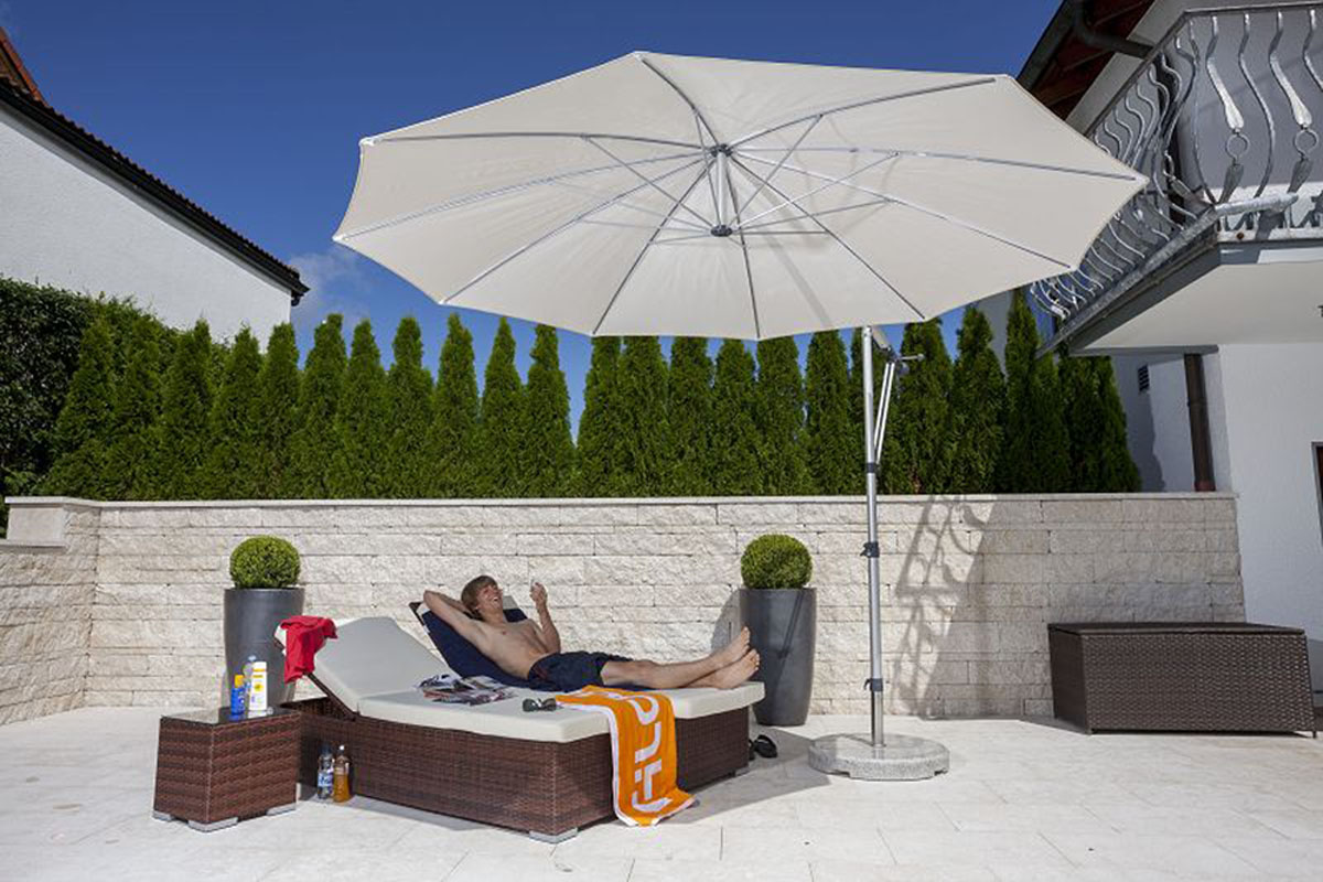 sonnenschirm hochwertig sonnenschirm. Black Bedroom Furniture Sets. Home Design Ideas